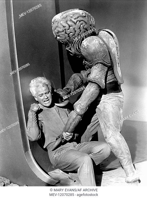 Jeff Morrow & Alien Characters: Exeter & Film: This Island Earth (1955) 01 June 1955
