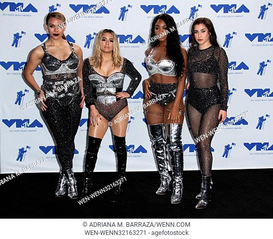 MTV Video Music Awards (VMA) 2017 Press Room held at the Forum in Inglewood, California. Featuring: Dinah Jane, Ally Brooke, Normani Kordei