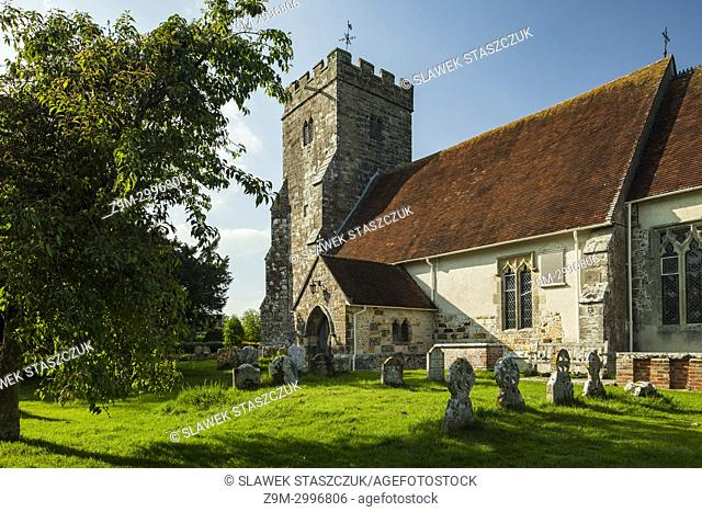 Ripe village church, East Sussex, England