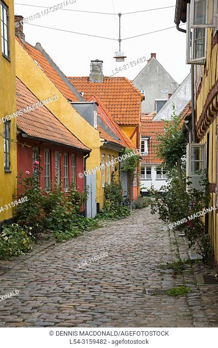 Helsingor also known as Elsinore is a port city in eastern Denmark