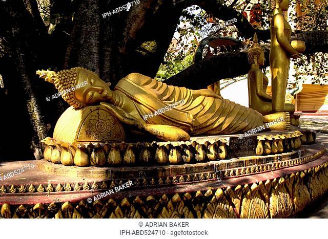 Laos Vientiane Wat That Luang Wat That Luang Neuh (North)