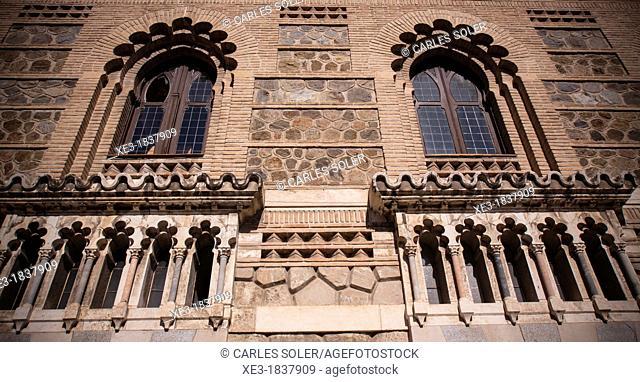 Facade of Toledo Train Station, Spain