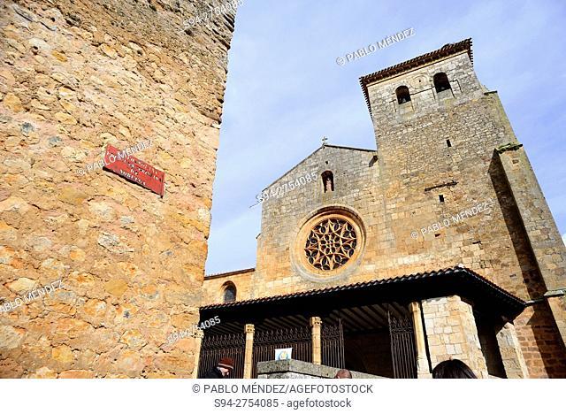 Church of San Cosme and San Damian in Covarrubias, Burgos, España