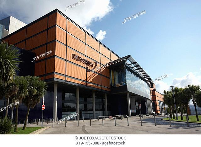 Odyssey Arena and pavilion, Belfast city centre, Northern Ireland, UK