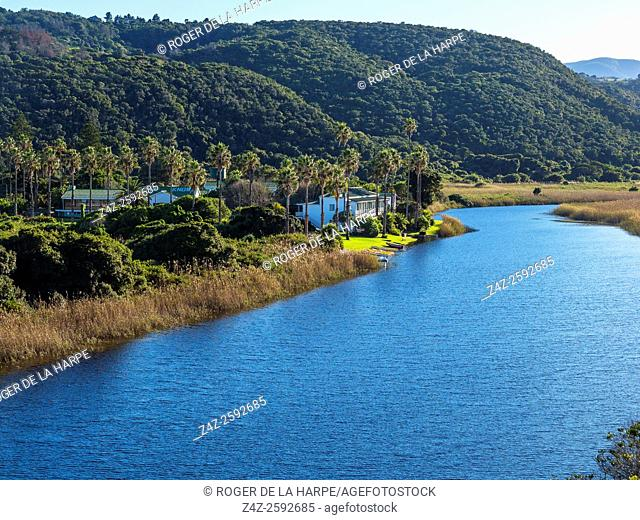 Touws River (Touwsrivier). Wilderness. Garden Route. Western Cape. South Africa