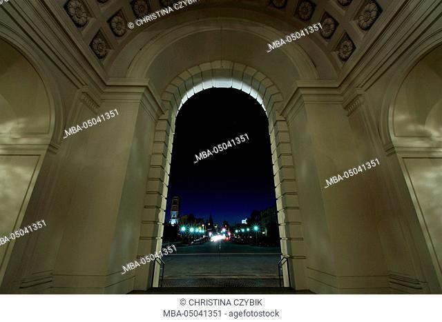 Night Photography: Pasadena City Hall, Los Angeles, California September
