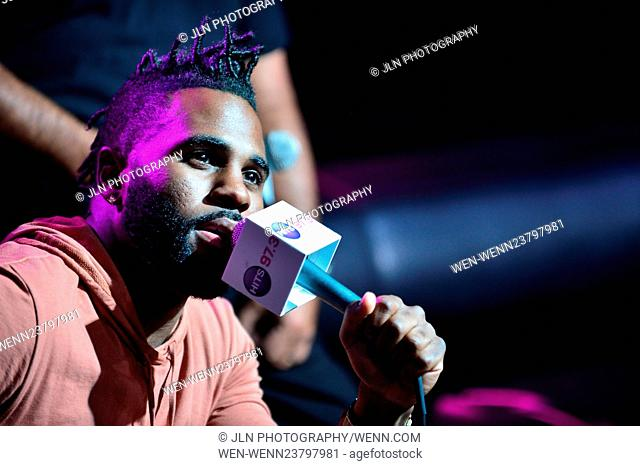 Jason derulo performing live on Stock Photos and Images