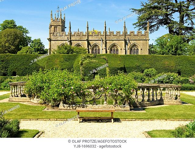 Sudeley Castle is a castle located near Winchcombe, Gloucestershire, England It dates from the 10th century, but the inhabited portion is chiefly Elizabethan