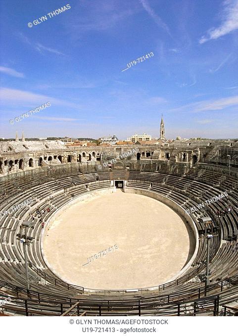 Amphitheatre, Nîmes, France