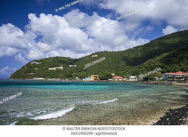 British Virgin Islands, Tortola, Apple Bay, seascape