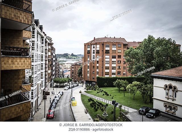 Streets of Aviles, Asturias