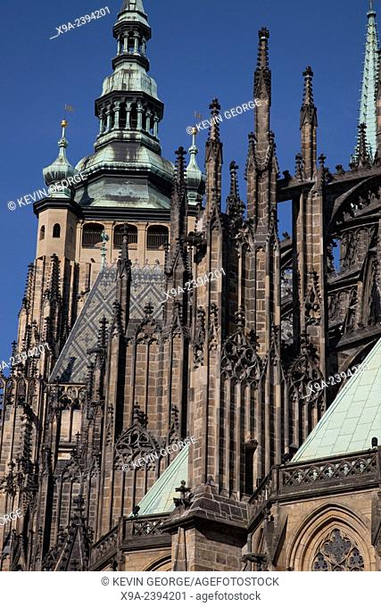 Cathedral, Prague; Czech Republic; Europe