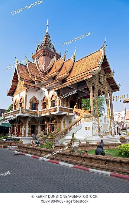 Wat Bupparam, Chiang Mai, Thailand