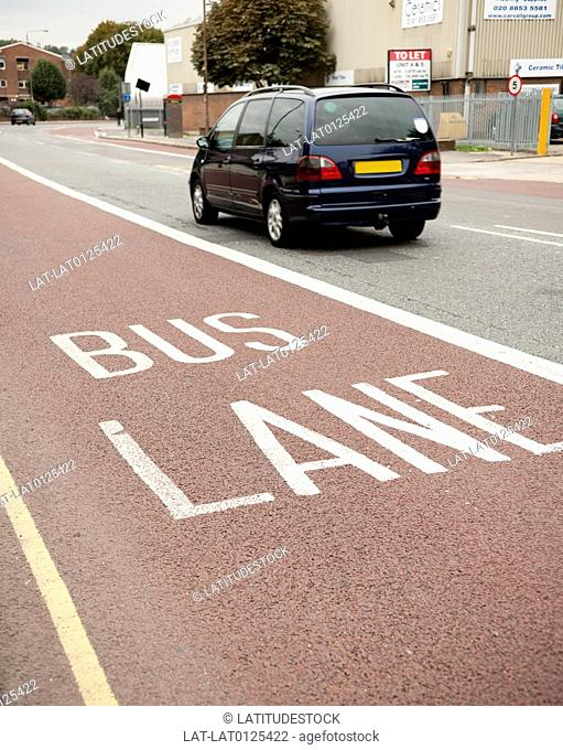 Bus lanes form an important part of London's transport network,helping to ease congestion and facilitate a faster public transport service for passengers