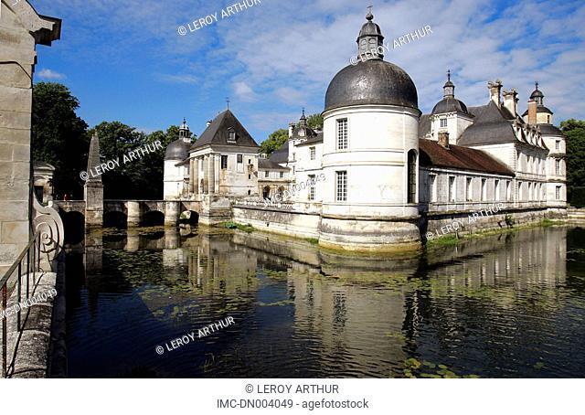 France, Burgundy, castle of Tanlay