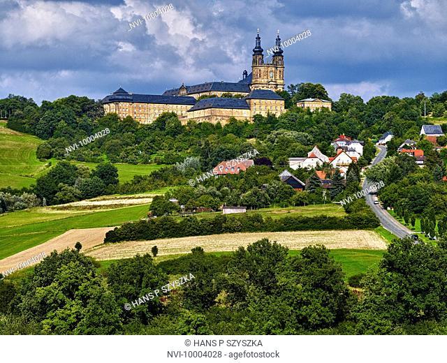 Banz Abbey, Bad Staffelstein, Upper Franconia, Bavaria, Germany