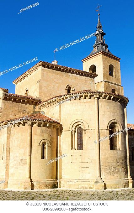 San Millán Church, in Segovia, city declarated Historical-Artistic Site, and World Heritage by UNESCO