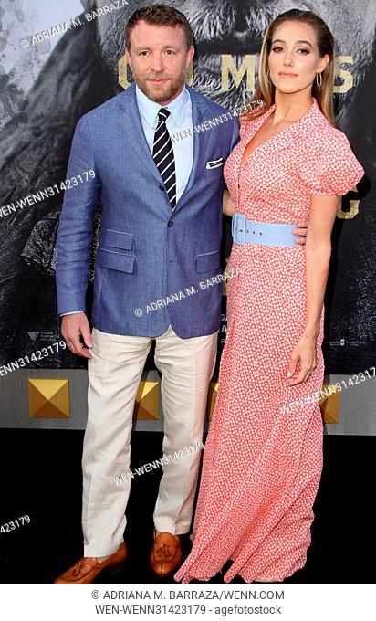 King Arthur: Legend of the Sword Premiere held at the TCL Chinese Theatre in Hollywood. Featuring: Director Guy Ritchie, wife Jacqui Ainsley Where: Los Angeles