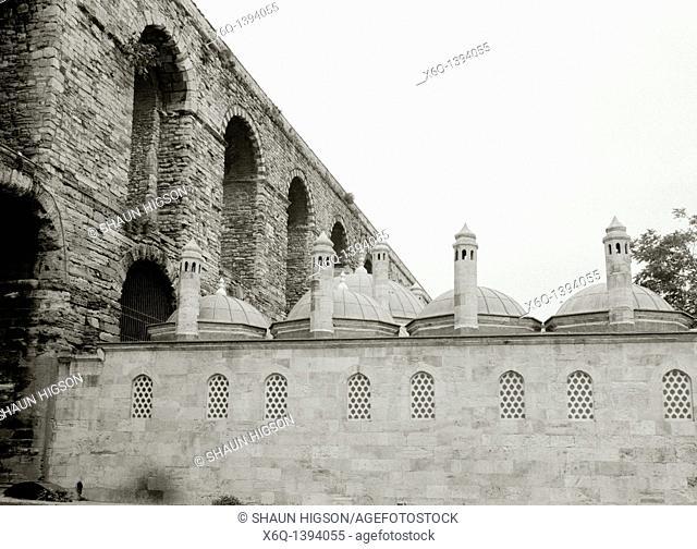 Valen's Aqueduct in Istanbul, Turkey