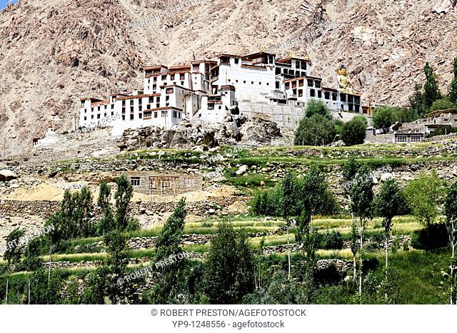 Likir Gompa, buddhist monastery, in Ladakh, India