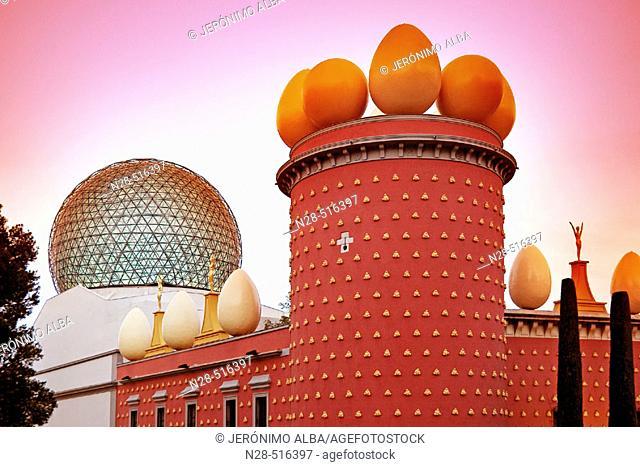 Dalí's Theatre Museum. Figueres. Catalonia. Spain