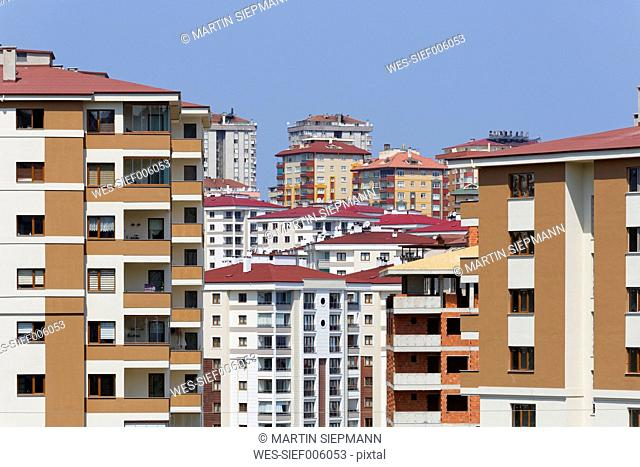 Turkey, Black Sea Region, Trabzon, development area