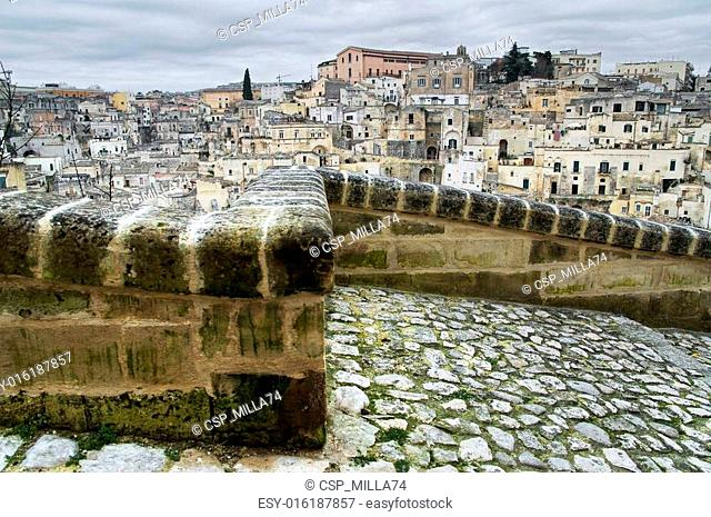 The Sassi of Matera. Basilicata