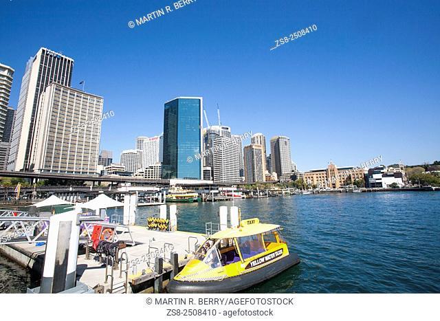 Water Taxi at Sydney Circular Quay