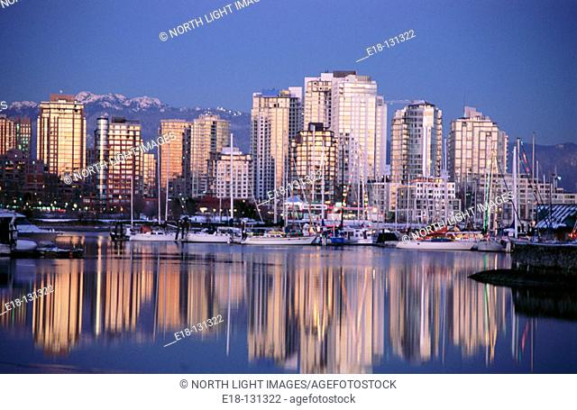 False Creek. Vancouver. British Columbia. Canada