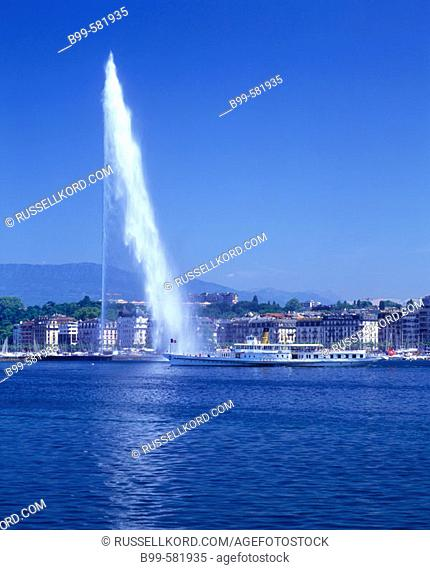 Water Jet, Geneva, Switzerland