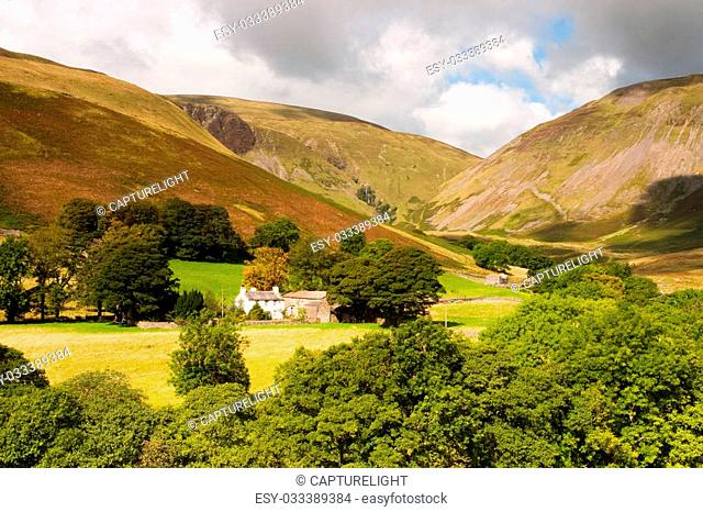 Landscape near Sedbergh - Sedbergh - town in Yorshire Dales National Park