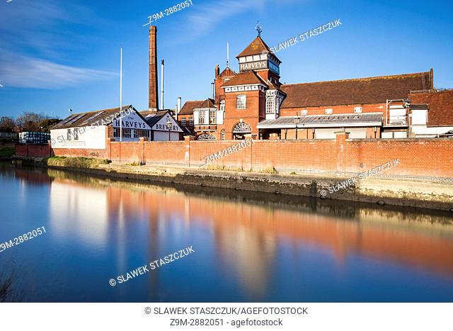 Harvey's Brewery in Lewes, East Sussex, England