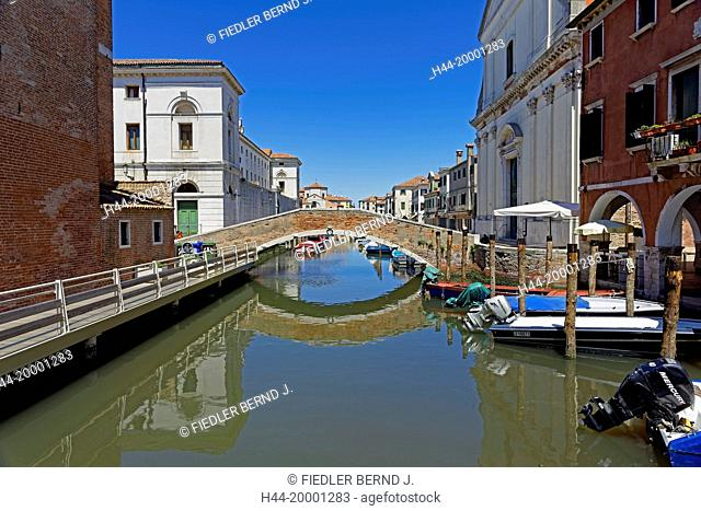 Chioggia, bridge, harbour