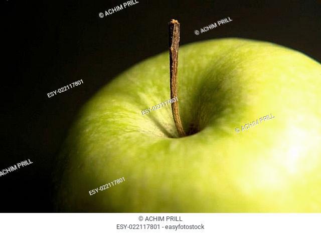 green apple detail