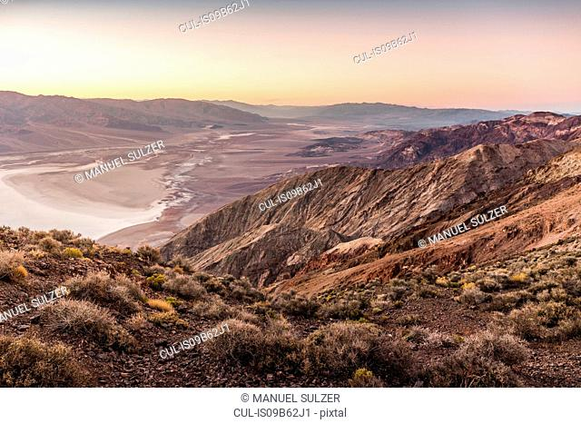 Landscape from Dante's View, Death Valley National Park, California, USA