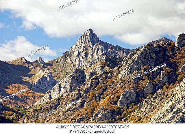 Mountains. Riaño. Picos de Europa Regional Park. Leon Province. Castilla y Leon. Spain