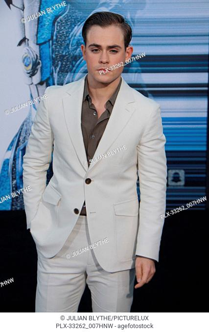 """Decre Montgomery 03/22/2017 """"""""Power Rangers"""""""" Premiere held at the Westwood Village Theater in Westwood, CA Photo by Julian Blythe / HNW / PictureLux"""