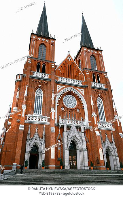 Archcathedral Basilica of the Holy Family also called Czestochowa Cathedral, it is one of the largest of its kind in Europe, built between 1901 and 1927
