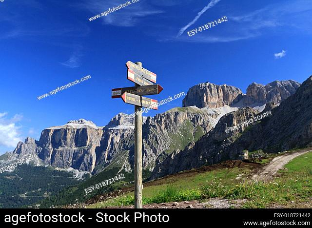 signs and Dolomites