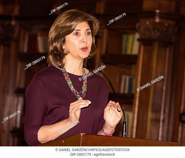 Chancellor of Colombia María Ã. ngela Holguín