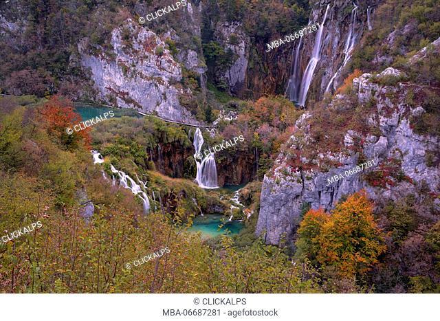 Plitvice national park,Karlovac region, Croatia district, Europe