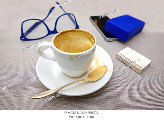 Coffee and Business Break in Ascona, Switzerland