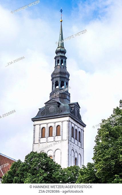 St. Olaf's Church in Tallinn, Estonia, Europe