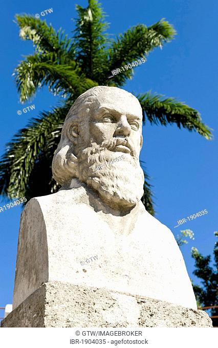 Statue of Camilo Cienfuegos, Santiago de Cuba, Cuba