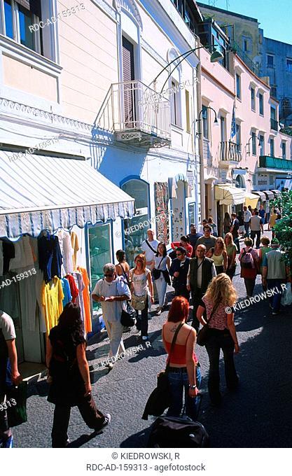 Via Roma Capri Island Campania Italy