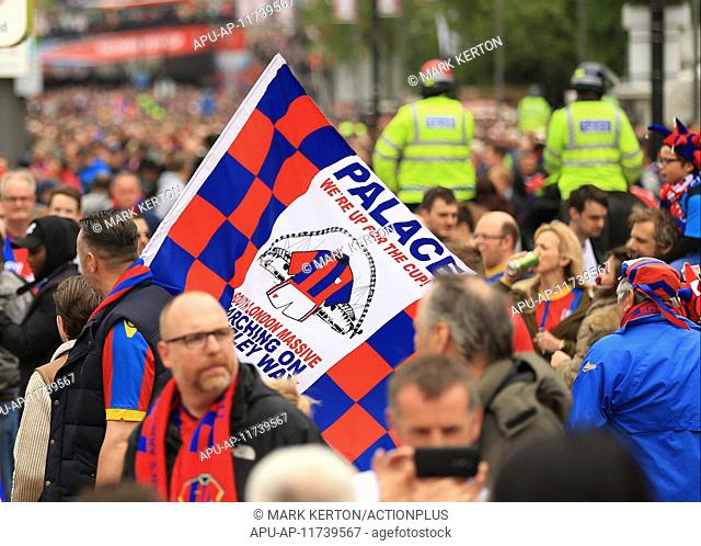 2016 The Emirates FA Cup Final Manchester United v Crystal Palace May 21st. 21.05.2016. Wembley Stadium, London, England. The Emirates FA Cup Final