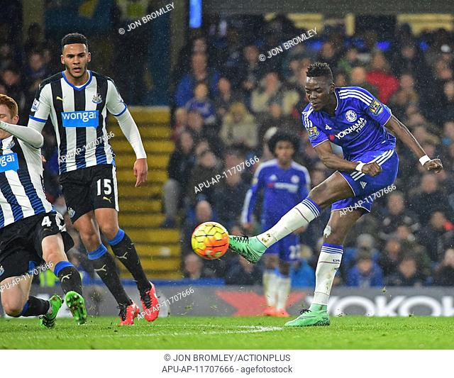 2016 Barclays Premier League Chelsea v Newcastle Feb 13th. 13.02.2016. Stamford Bridge, London, England. Barclays Premier League