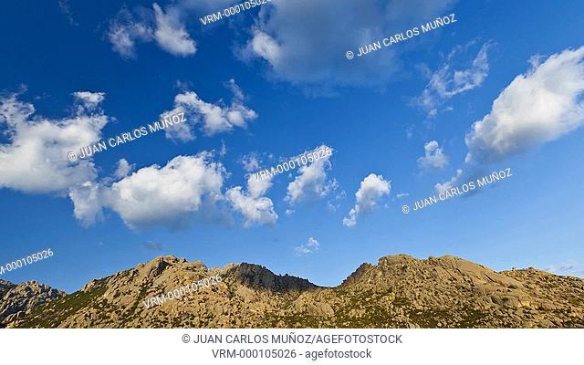 La Pedriza, Regional Park of the High River basin of Manzanares, Guadarrama mountain range, Madrid, Spain, Europe