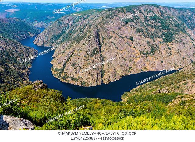 Sil Canyon Cañon del Sil, Ribeira Sacra. Galicia, Spain