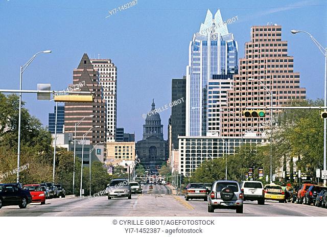 Congress Avenue, Austin, Texas, USA